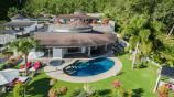 Birdview of the Bismarcks Paradise   Luxury Pool Villas Resort